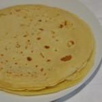 Crepes para crepes de lacón y queso crema