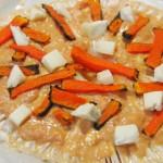 Macrolepiota de calabaza y gorgonzola3