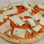 Macrolepiota de calabaza y gorgonzola4