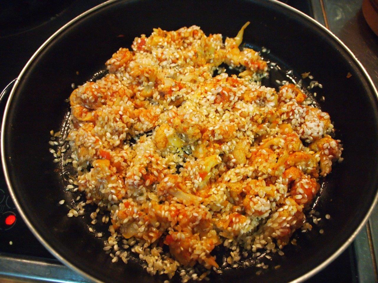 Arroz con bacalao y coliflor cocina sin carn - Arroz con bacalao desmigado ...