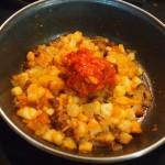 empanadillas cebolla bacalao