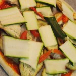 Pizza de berenjena y calabacín2