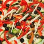 Pizza de berenjena y calabacín4