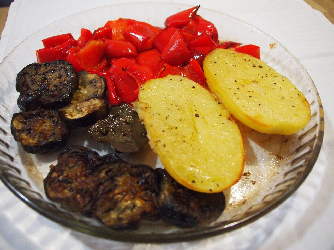 Verduras al horno con queso de cabra cocina sin carn - Verduras rellenas al horno ...
