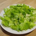 Ensalada melva mojo verde