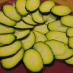 Carpaccio  calabacín jamón pipas