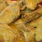 Macrolepiotas romana con salsa tártara