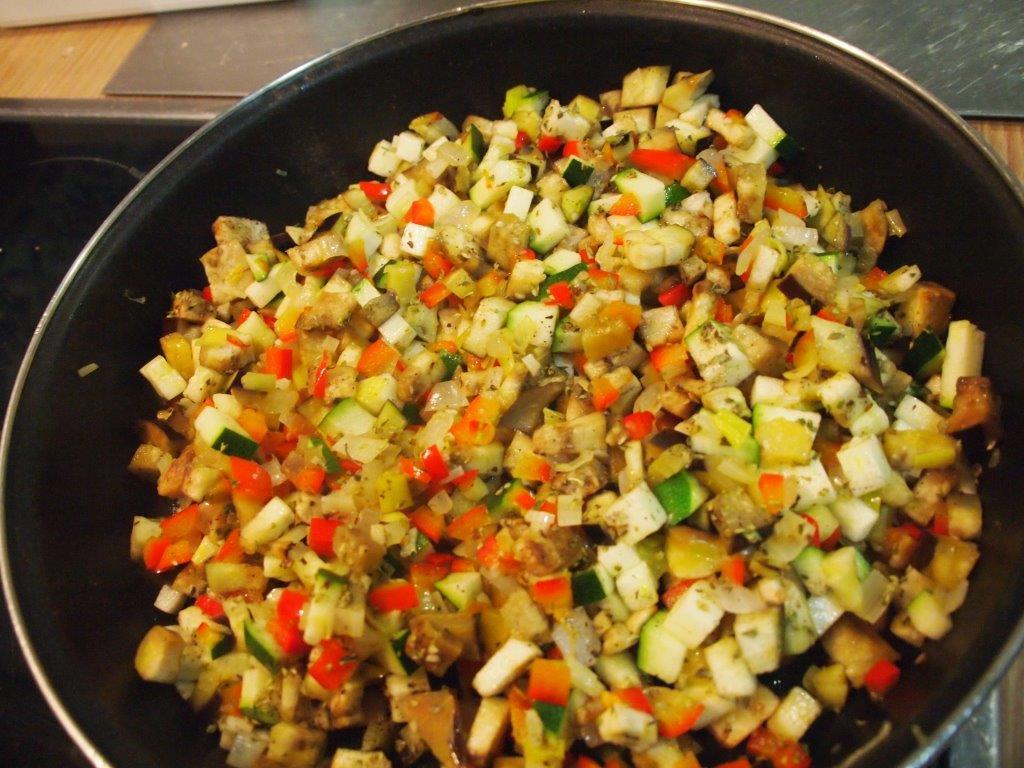 Timbal de trigo y verduritas cocina sin carn for Cocinar trigo