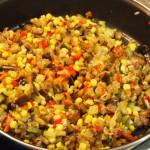 timbal trigo verduritas