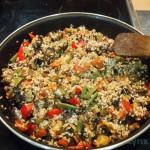 Paella  verduras
