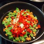 Arroz  verduras y boletus