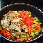 Arroz de verduras  boletus