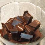 Cerezas chocolate blanco y negro