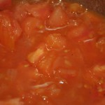 Papardelle salsa de tomates albahaca