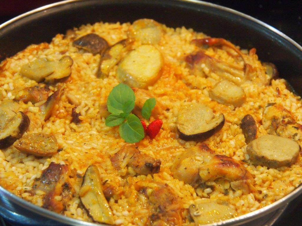 hermoso cocinar conejo con arroz im genes receta de
