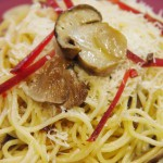 espaguetis setas  boletus