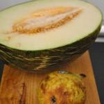 sopa de melón sin lácteos
