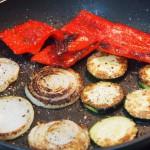Hamburguesas de canguro verduras