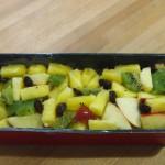Pudin  frutas variadas