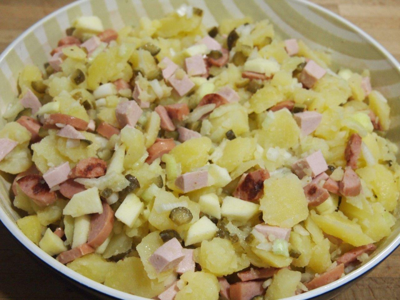Ensalada alemana cocina - Ensalada alemana de patatas ...