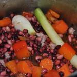 Caparrones con verduras