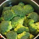 Brócoli cociendo