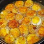Huevos 3 veces hechos