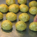 Bolitas para Rosquillas integrales de naranja