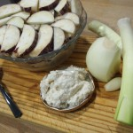 Crema de berenjenas y almendras ingredientes