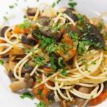 Espagueti con salsa boscaiola5