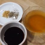 Ingredientes para Fideos chinos con verduras y secreto ibérico
