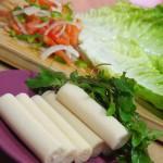 Ingredientes para Ensalada de palmitos y aliño de olivas negras y tomates secos