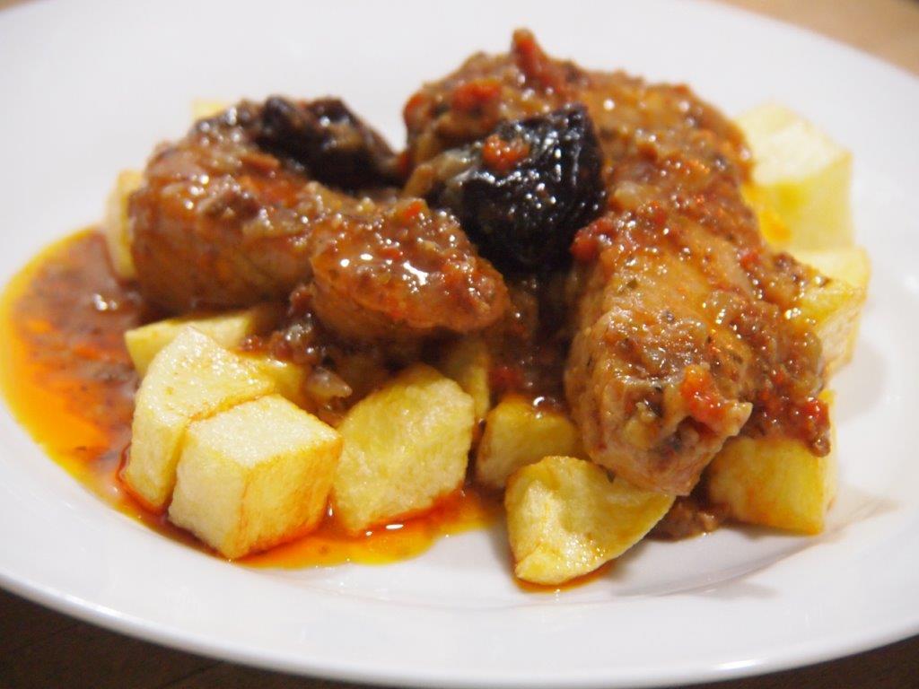 Escaldums de pavo cocina sin carn - Pavo con castanas ...