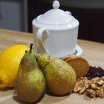 ingredientes para Strudel de pera y queso fresco de cabra