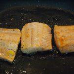 Salmón en plancha