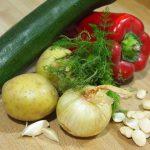 verduras para el arreglo mallorquín