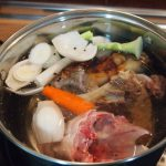 caldo para sopa de cardo y tapioca