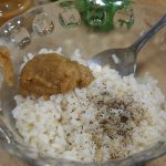 Arroz para Timbal de solomillo y foie con manzana